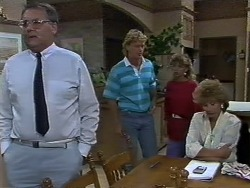 Harold Bishop, Henry Ramsay, Charlene Mitchell, Madge Bishop in Neighbours Episode 0446