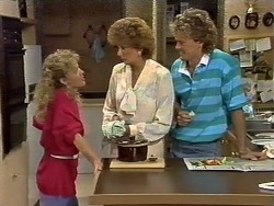 Charlene Mitchell, Madge Bishop, Henry Ramsay in Neighbours Episode 0446