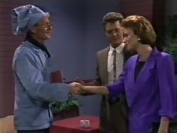 Dean Bartholomew, Paul Robinson, Gail Robinson in Neighbours Episode 0447