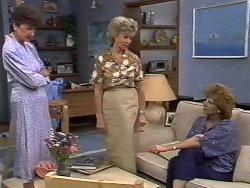 Nell Mangel, Helen Daniels, Madge Bishop in Neighbours Episode 0447