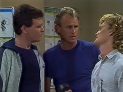 Des Clarke, Jim Robinson, Henry Ramsay in Neighbours Episode 0448