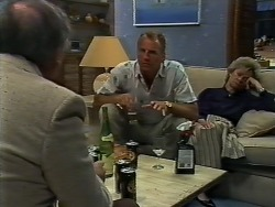 Rob Lewis, Jim Robinson, Helen Daniels in Neighbours Episode 0448