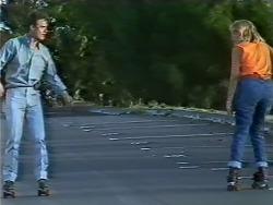 Paul Robinson, Jane Harris in Neighbours Episode 0448