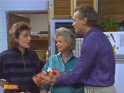 Gail Lewis, Helen Daniels, Jim Robinson in Neighbours Episode 0501