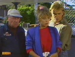 Rob Lewis, Charlene Mitchell, Scott Robinson in Neighbours Episode 0501
