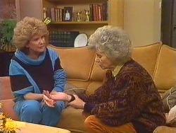 Madge Mitchell, Helen Daniels in Neighbours Episode 0501