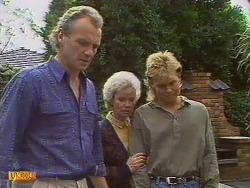 Jim Robinson, Helen Daniels, Scott Robinson in Neighbours Episode 0501