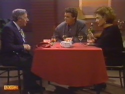 Rob Lewis, Paul Robinson, Gail Lewis  in Neighbours Episode 0502