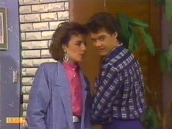 Gail Robinson, Paul Robinson  in Neighbours Episode 0502