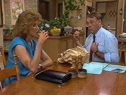 Madge Bishop, Harold Bishop in Neighbours Episode 0738