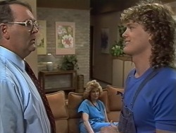Harold Bishop, Henry Ramsay, Madge Bishop in Neighbours Episode 0738