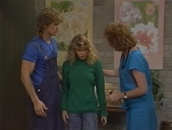 Henry Ramsay, Charlene Mitchell, Madge Bishop in Neighbours Episode 0738