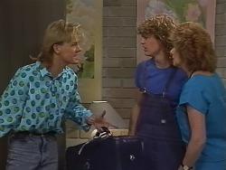 Scott Robinson, Henry Ramsay, Madge Bishop in Neighbours Episode 0738
