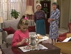 Katie Landers, Helen Daniels, Nell Mangel in Neighbours Episode 0742