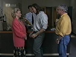 Helen Daniels, Wayne Duncan, Lou Carpenter in Neighbours Episode 1941