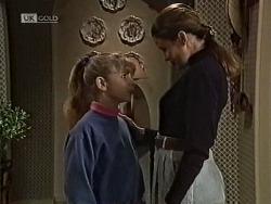 Hannah Martin, Julie Robinson in Neighbours Episode 1941