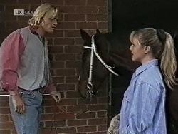 Brad Willis, Chukka Mental, Lauren Carpenter in Neighbours Episode 1943