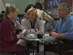 Lauren Turner, Brad Willis, Lou Carpenter in Neighbours Episode 1944