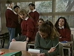 Debbie Martin, Rick Alessi, Julie Robinson, Louise Barker in Neighbours Episode 1944