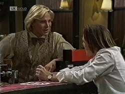 Brad Willis, Harvey Johnson in Neighbours Episode 1944