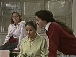 Student, Julie Robinson, Louise Barker in Neighbours Episode 1945