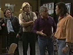Harvey Johnson, Brad Willis, Lou Carpenter, Wayne Duncan in Neighbours Episode 1945