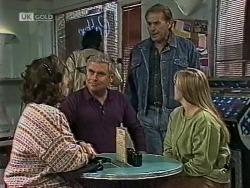 Pam Willis, Lou Carpenter, Doug Willis, Lauren Turner in Neighbours Episode 1945