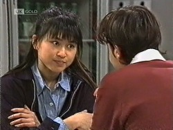 Sarah Lim, Rick Alessi in Neighbours Episode 1947