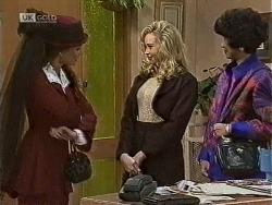 Gaby Willis, Annalise Hartman, Jenny Lim in Neighbours Episode 1948