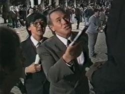 Raymond Lim, Doug Willis in Neighbours Episode 1948