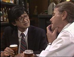 Raymond Lim, Doug Willis in Neighbours Episode 1949
