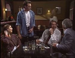 Beth Brennan, Stephen Gottlieb, Doug Willis, Lou Carpenter in Neighbours Episode 1949
