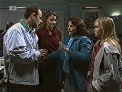 Philip Martin, Gaby Willis, Pam Willis, Lauren Carpenter in Neighbours Episode 1950