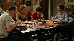 Karl Kennedy, Rachel Kinski, Zeke Kinski, Susan Kennedy in Neighbours Episode 5204