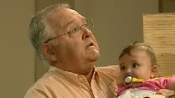 Harold Bishop, Kerry Mangel (baby) in Neighbours Episode 5210
