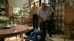 Harold Bishop, Lou Carpenter, Terrence Chesterton in Neighbours Episode 5210