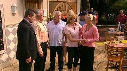 Toadie Rebecchi, Harold Bishop, Lou Carpenter, Janelle Timmins, Sky Mangel in Neighbours Episode 5211