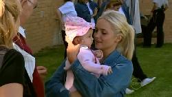 Kerry Mangel (baby), Sky Mangel, Harold Bishop, Janelle Timmins in Neighbours Episode 5217