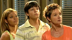 Rachel Kinski, Zeke Kinski, Susan Kennedy in Neighbours Episode 5218