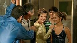 David Mather, Karl Kennedy, Susan Kennedy, Zeke Kinski, Rachel Kinski in Neighbours Episode 5218