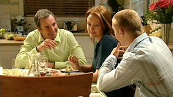 Karl Kennedy, Charlotte Stone, Boyd Hoyland in Neighbours Episode 5220