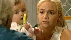 Mary Casey, Kerry Mangel (baby), Sky Mangel in Neighbours Episode 5223