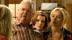 Pepper Steiger, Harold Bishop, Bree Timmins, Janelle Timmins in Neighbours Episode 5223
