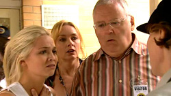 Sky Mangel, Janelle Timmins, Harold Bishop in Neighbours Episode 5224