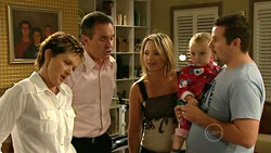 Susan Kennedy, Karl Kennedy, Steph Scully, Charlie Hoyland, Toadie Rebecchi in Neighbours Episode 5224