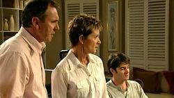Karl Kennedy, Susan Kennedy, Frazer Yeats in Neighbours Episode 5225