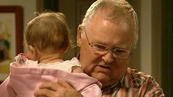 Kerry Mangel (baby), Harold Bishop in Neighbours Episode 5225