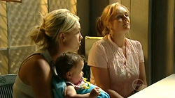 Sky Mangel, Kerry Mangel (baby), Janelle Timmins in Neighbours Episode 5227