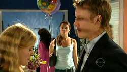 Elle Robinson, Carmella Cammeniti, Oliver Barnes in Neighbours Episode 5228