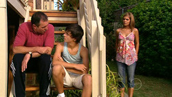Karl Kennedy, Zeke Kinski, Rachel Kinski in Neighbours Episode 5228